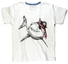 Camiseta Tubarão Pirata