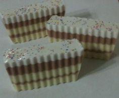 Vanilla Birthday Cake Soap from Soap Box Ottawa   www.facebook.com/soapboxottawa