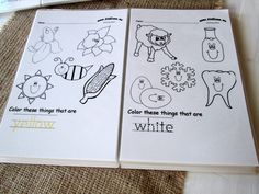 dry erase activity book laminated