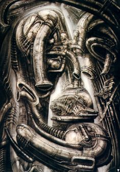 Hans Ruedi Giger, «Biomechanical Landscape», Biomechanical Landscape IIa