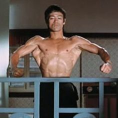 Bruce Lee - If he did one more movie he couldave flown with those wings:)