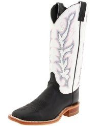 7e2281a7df Justin Boots Women s U. Bent Rail Collection Boot Wide Square Double Stitch  Toe Leather Outsole