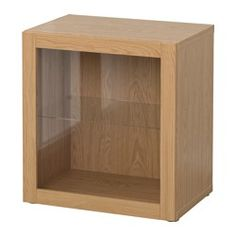 BESTÅ Shelf unit with glass door £55