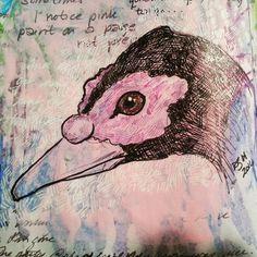 duck sketch #sketchbooks #ducks
