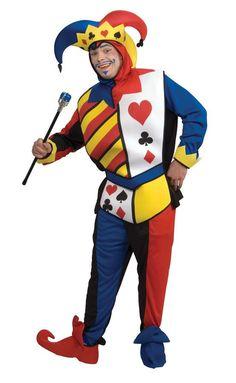 Playing Card Joker Adult Lg