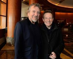 Robert Plant & John Paul Jones | Led Zeppelin in Washington D.C. hotel Dec. 2012 -- in town for the Kennedy Center Honors. This pic has been cropped....