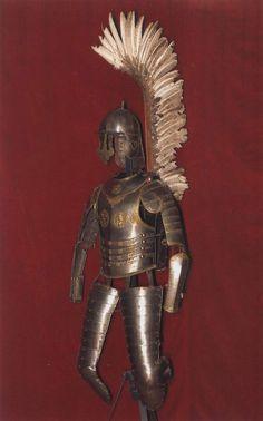 Three-quarter armour of the Polish Winged Hussar.