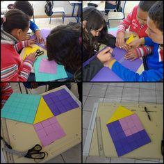 Comprovando Teorema de Pitágoras através de área turma 81