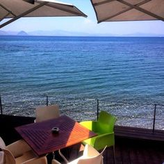 Boutique hotel in the heart of Kos town, with an amazing sea view. Two times winner of Condé Nast Traveler's 'Best hotels of the world' award. Welcome November, Cafe Bar, Best Hotels, Restaurant Bar, Kos, Sun Lounger, Patio, Island, Luxury