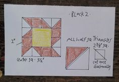 Everyday Patchwork Block 2 at http://quiltsbycheri.blogspot.com/2015/04/everyday-patchwork_14.html. quiltsbycheri