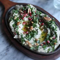 7 Middle Eastern Dips to Make Beyond Hummus | From smoky-sweet baba ghanouj to spicy muhammara, here are seven delicious Middle Eastern dips to add to your next snack spread.