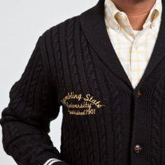 "Grambling ""Heathcliff"" Cardigan When You See It, Dom, Sweaters, Fashion, Moda, Fashion Styles, Sweater, Fashion Illustrations, Sweatshirts"