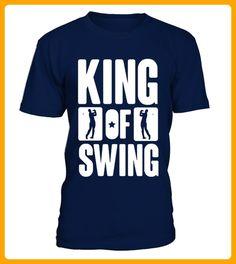 Golf  King of swing T shirt best sport team player gift - Golf shirts (*Partner-Link)