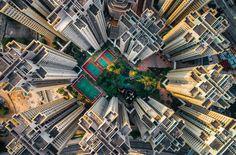 La vie claustrophobique des Hong-Kongais vue du ciel