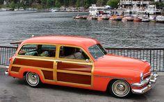 1951 Mercury woody - orange - svr by Rex Gray, via Flickr