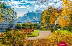 Salzburg Austria, Big Ben, Golf Courses, Mansions, House Styles, Building, Travel, Birthing Center, Old Town