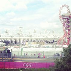 yumibe's photo of London 2012 Olympic Park on Instagram