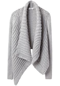 HELMUT LANG /  SHAWL CARDIGAN - the shaped seaming on the back is awesome