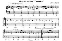 мелодии на пианино в тональности до мажор - Поиск в Google