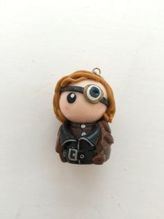 Chibi: Mad-Eye Moody from Harry Potter by thingsbypurple on Etsy Polymer Clay Halloween, Polymer Clay Projects, Polymer Clay Creations, Harry Potter Charms, Harry Potter Diy, Harry Potter Halloween, Harry Potter Christmas, Harry Potter Artwork, Harry Potter Characters