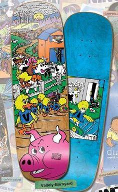 d2d841b47f Old School World Industries Mike Vallely Barnyard Reissue Skateboard Deck    eBay New Skate, Skate