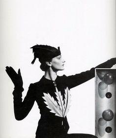Ensemble by Elsa Schiaparelli, photo by Cecil Beaton, 1935