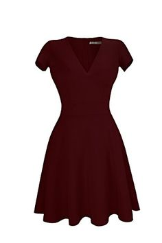 This dress is made of light soft and comfortable fabric. Please note that you might have to iron this dress before wearing it. Ironing flat the entire bottom part at low temperature takes only a few...