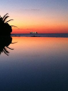For those who recognize this view- yes it is the James Bond Villa in one and only Resort Bahamas