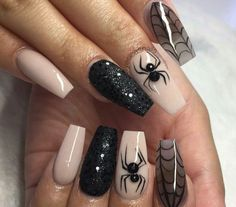 Here are 40 which nails for you, get ready for the next halloween now!