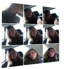I got soo soo bored in the car