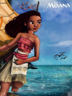 Arekusan-Meka — Just wrapped up this fan art for the 2016 Disney movie Moana