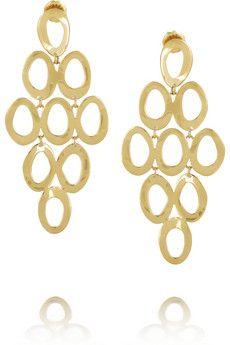 Ippolita Cascade 18-karat gold earrings | NET-A-PORTER