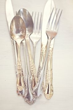 so southern.....every woman needs at least one set of silver...