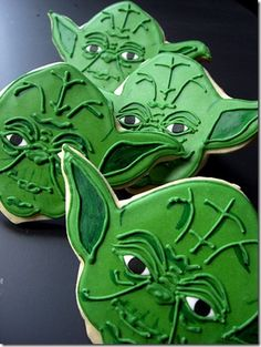 Star Wars Cookies #yoda