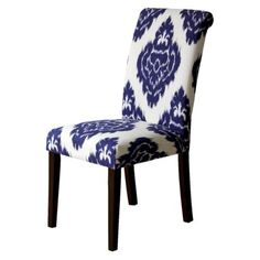 Avington Dining Chair Set of 2 - Blue Diamonds, 150 for set of 2 (on sale, normally 200/2)- target. I love these.