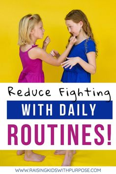 Kids fight more and display bad behavior when their life feels hectic. Find out the science behind routines and start using these kid-friendly morning routine charts and evening routine charts. #raisingkids #routines #selfsufficiency #responsibility #parentingtips #parenting Kids And Parenting, Parenting Hacks, Morning Routine Chart, Sibling Relationships, Kids Schedule, Emotional Regulation, Evening Routine, Chores For Kids, Positive Discipline