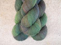 Merino Single - Hand dyed - 100 grams - 366m/400yards - Ivy