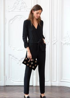 Exactly What French Girls Will Be Wearing for the Holidays via @WhoWhatWear