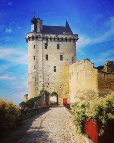 Un petit voyage #chinon #château #tourisme #indreetloire #voyage #castles #holiday #wanderingabout
