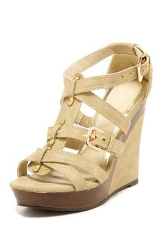 Bucco Melody Wedge. These are super cute. I see these shoes with a army green dress. Maybe that is just the military girl in me. But this is a total #Maria Outfit