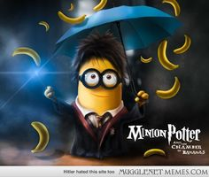 Minion Potter and the Chamber of Bananas