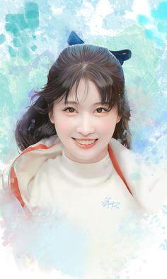 by isabell Chang Twice Fanart, Mother Art, Best Kpop, Dahyun, Kpop Fanart, Cute Gay, Korean Girl Groups, Chibi, Fantasy Art