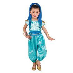 Toddler Shimmer & Shine Deluxe Shine Costume, Girl's, Size: Small, Multicolor