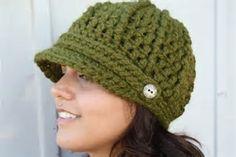 free crochet newsboy hat patterns for women için resim sonucu