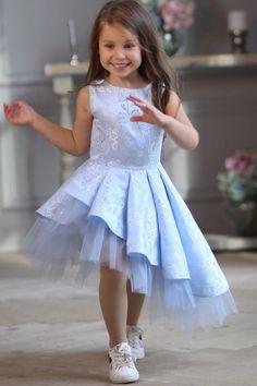 Light blue flower girl dress, Skew tulle dress, Girl party dress, Baby girl Dress, Birthday G… - Ukraine Flowers Delivery Baby Girl Party Dresses, Birthday Girl Dress, Blue Party Dress, Wedding Dresses For Girls, Dresses Kids Girl, Birthday Dresses, Baby Dress, Flower Girl Dresses, Baby Birthday