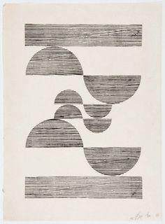 Aesthete Label love - brazilian artist lygia pape's woodcut prints. Poster S, London Art, Pablo Picasso, Geometric Art, Art Inspo, Line Art, Printmaking, Modern Art, Art Drawings