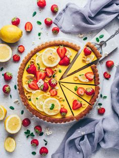 Vegan Lemon Curd, Lemon Curd Tart, Coconut Tart, Lemon Curd Filling, Lemon Coconut, Coconut Cream, Lemon Tarte, Easy Tart Recipes, Vegan Recipes
