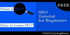 seo tutorials for beginners