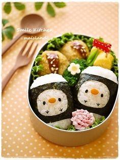 Kawaii Chick Twins Kyaraben Bento Lunch