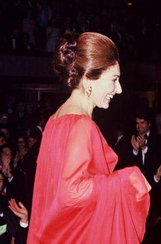 Maria Callas, 1974.